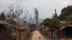 Cement factory in Vang Vieng. By CHUNG Kwan Yu Lillian, 2018.
