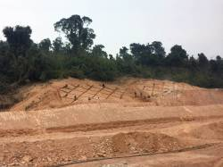 China-Laos Railway construction. By Ashley Scott Kelly, 2018.