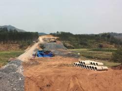 China-Laos Railway construction. By Xiaoxuan Lu, 2018.