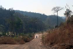Dawei-Phunamron Road Link access road. By Ashley Scott Kelly, 2017.