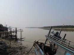 Dawei River (at Dawei). By YUEN Ka Hei, 2015.