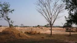 Farmland resumption for Vientiane highway. By CHUNG Kwan Yu Lillian, 2018.