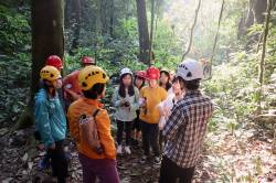 HKU Landscape students at Bubeng Field Station for Tropical Rainforest Ecosystem Studies, Chinese Academy of Sciences, Yunnan. By TANG Chun Wah Richard, 2019.