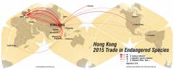 Hong Kong Trade in Endangered Species 2015.