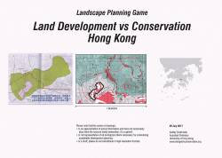 Landscape planning game uses one of HK Development Bureau's planned housing development sites.