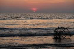 Maungmagan Beach. By Ashley Scott Kelly, 2017.