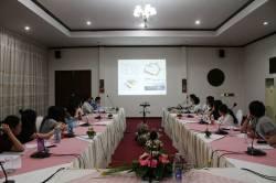 Meeting with The Border Consortium (TBC). By TSANG Yik Ming, 2015.