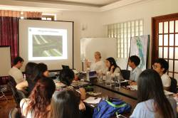 Meeting with Worldwide Fund for Nature (WWF) Myanmar. By FEI Xiaoyan, 2015.