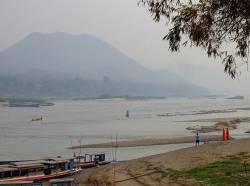 Mekong River at Luang Prabang. By HUI Chun Sing, 2018.