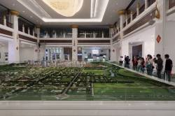 Nanla New District Planning Exhibition Hall, Mengla, Yunnan. By Ashley Scott Kelly, 2019.