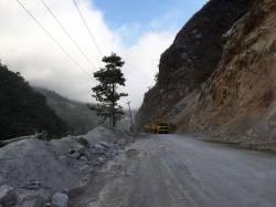 Narayanghat-Mugling Highway. By Ashley Scott Kelly, 2016.