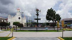 Plaza de Armas Moyobamba. By HUANG Hao Gary, 2012.