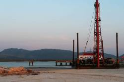 Small port at Dawei SEZ. By Ashley Scott Kelly, 2017.