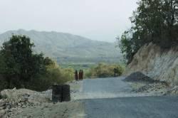 Total Yadana gas pipeline CSR area (Kaleinaung Pagoda overlook). By Ashley Scott Kelly, 2015.
