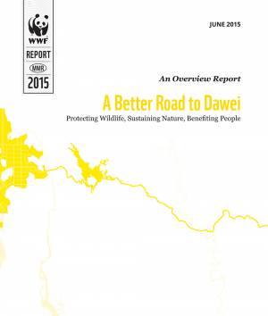 WWF, A Better Road to Dawei: Front cover