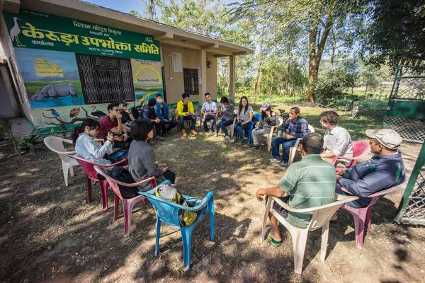 Kerunga Community Forest User Group, Chitwan Buffer Zone. By Ashley Scott Kelly, 2016.